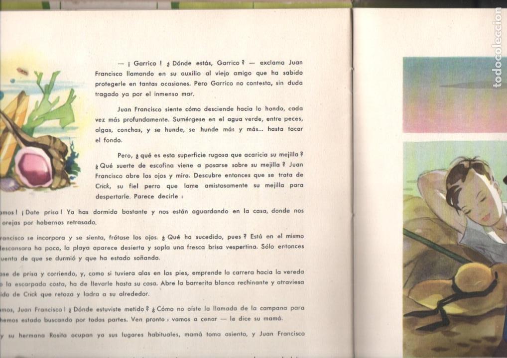 Libros de segunda mano: MARCUS Y MERCIER : EL SUEÑO DE JUAN FRANCISCO (ALBATROS, MÉXICO, 1946) - Foto 3 - 196328025