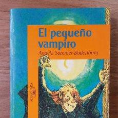 Livres d'occasion: EL PEQUEÑO VAMPIRO (ANGELA SOMMER-BODENBURG) COLECCIÓN EL PEQUEÑO VAMPIRO. ALFAGUARA INFANTIL (1996). Lote 197111942