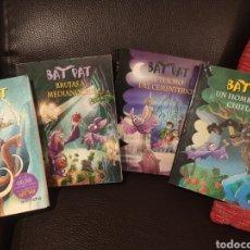 Libros de segunda mano: LOTE DE 4 TÍTULOS DE BAT PAT. Lote 197592990