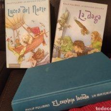 Libros de segunda mano: TRILOGÍA DE LA MATERIA OSCURA, PHILIP PULLMAN. Lote 197593433