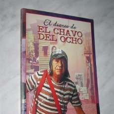 Libros de segunda mano: EL DIARIO DE EL CHAVO DEL OCHO. ROBERTO GÓMEZ BOLAÑOS ILUSTRA EL AUTOR. ED. DEL LABERINTO, 2001. VER. Lote 197602048