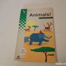 Libros de segunda mano: MARIA JESÚS BOLTA. ANIMALS! GRUMETS DE LA GALERA. PREMI JOSEP FOLCH I TORRES 2001. Lote 197861936