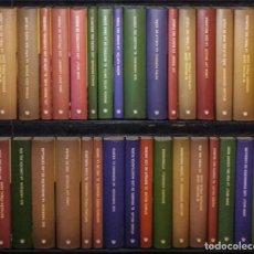 Libros de segunda mano: COLECCIÓN NOVELAS DE LA PREHISTORIA -RBA- 39 TOMOS. Lote 199204541
