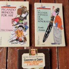 Libros de segunda mano: LOTE DE LIBROS PARA JÓVENES. Lote 199757077