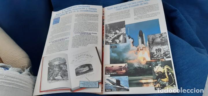 Libros de segunda mano: CLUB INTERNACIONAL LIBRO MEJORES OBRAS JULIO VERNE LOTE 23 NOVELAS COMPLETO Y FOLLETO PROMOCION 1989 - Foto 13 - 199924922