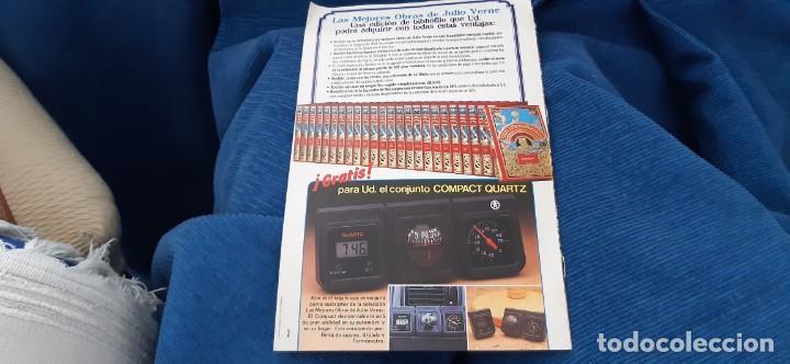 Libros de segunda mano: CLUB INTERNACIONAL LIBRO MEJORES OBRAS JULIO VERNE LOTE 23 NOVELAS COMPLETO Y FOLLETO PROMOCION 1989 - Foto 14 - 199924922