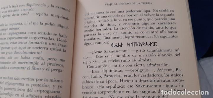Libros de segunda mano: CLUB INTERNACIONAL LIBRO MEJORES OBRAS JULIO VERNE LOTE 23 NOVELAS COMPLETO Y FOLLETO PROMOCION 1989 - Foto 17 - 199924922