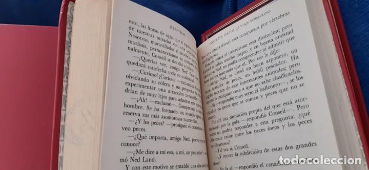 Libros de segunda mano: CLUB INTERNACIONAL LIBRO MEJORES OBRAS JULIO VERNE LOTE 23 NOVELAS COMPLETO Y FOLLETO PROMOCION 1989 - Foto 19 - 199924922