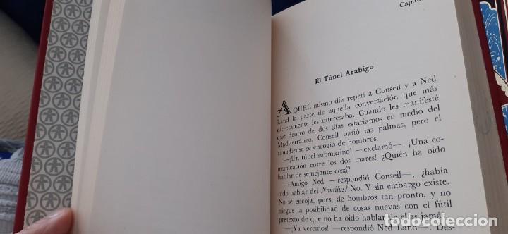 Libros de segunda mano: CLUB INTERNACIONAL LIBRO MEJORES OBRAS JULIO VERNE LOTE 23 NOVELAS COMPLETO Y FOLLETO PROMOCION 1989 - Foto 20 - 199924922