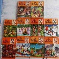 Libros de segunda mano: LOS HOLLISTER LOTE DE 13 LIBROS - 1,2,3,5,6,15,17,20,21,27,28,31,33. Lote 200076111