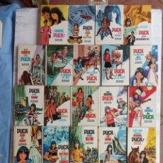 Libros de segunda mano: PUCK PRIMERA SERIE COMPLETA 1 AL 29 - BUENA CONSERVACIÓN. Lote 200394367