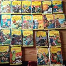 Libros de segunda mano: LOTE DE 21 LIBROS JUVENILES ED. BRUGUERA. AÑOS 60.. Lote 200637778