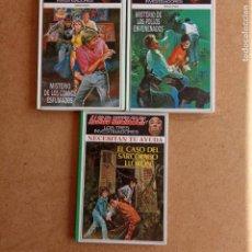 Libros de segunda mano: ALFRED HITCHCOCK Y LOS TES INVESTIGADORES NUEVA ETAPA NºS 2 Y 4, DIFICILES. Lote 221722986