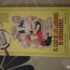 Libros de segunda mano: RESUELVE EL MISTERIO, EL CASO DE LOS LADRONES DE ORDENADORES. Lote 202829880