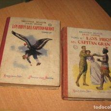 Libros de segunda mano: LOS HIJOS DEL CAPITAN GRANT JULIO VERNE 62 Y 63. Lote 203155687