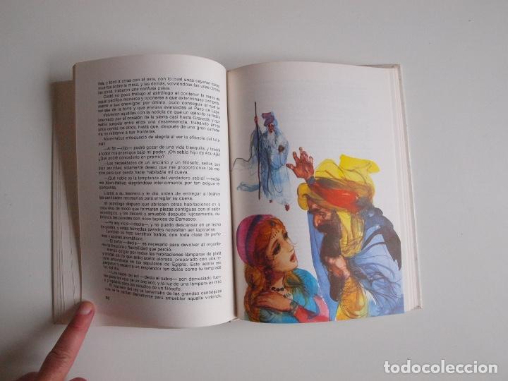 Libros de segunda mano: LEYENDAS DE LA ALHAMBRA - WASHINGTON - COLECCIÓN SAETA (Nº 30) - EDICIONES SUSAETA 1975 - Foto 4 - 203261473