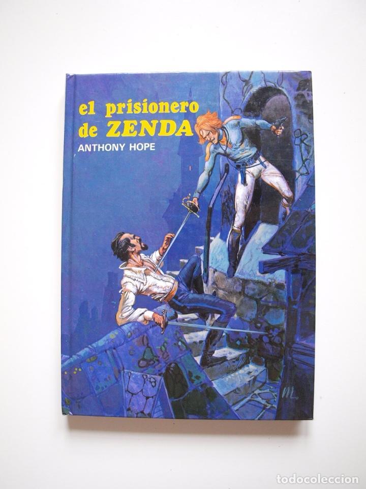 EL PRISIONERO DE ZENDA - ANTHONY HOPE - COLECCIÓN SAETA Nº 100 - EDICIONES SUSAETA 1986 (Libros de Segunda Mano - Literatura Infantil y Juvenil - Novela)