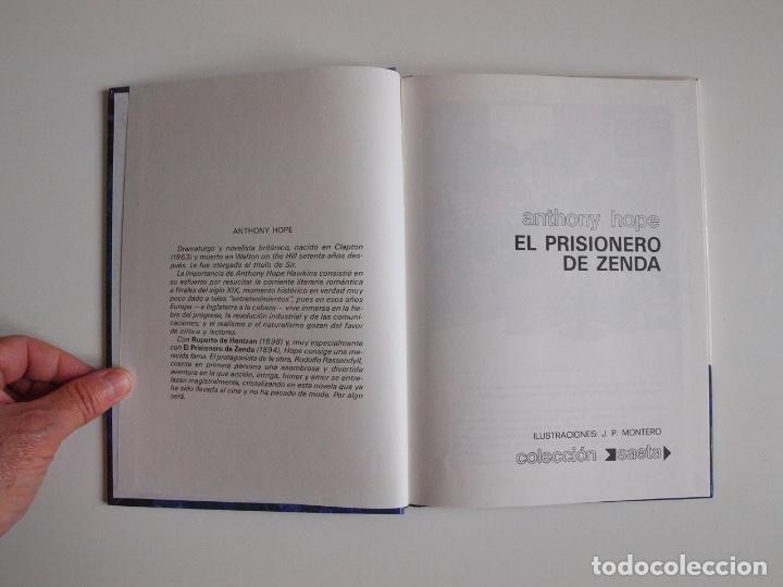 Libros de segunda mano: EL PRISIONERO DE ZENDA - ANTHONY HOPE - COLECCIÓN SAETA Nº 100 - EDICIONES SUSAETA 1986 - Foto 3 - 203273695