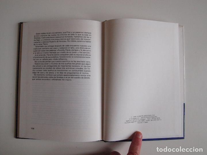 Libros de segunda mano: EL PRISIONERO DE ZENDA - ANTHONY HOPE - COLECCIÓN SAETA Nº 100 - EDICIONES SUSAETA 1986 - Foto 6 - 203273695