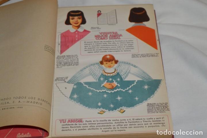 Libros de segunda mano: 1ª Edición 1955, ANTOÑITA la FANTÁSTICA, cumplió diez años / Borita Casas / Dibujos Zaragüeta, GILSA - Foto 3 - 203584845
