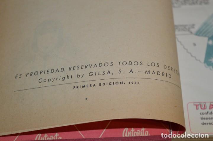 Libros de segunda mano: 1ª Edición 1955, ANTOÑITA la FANTÁSTICA, cumplió diez años / Borita Casas / Dibujos Zaragüeta, GILSA - Foto 4 - 203584845