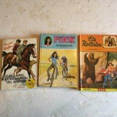 Libros de segunda mano: NOVELA JUVENIL PUCK - ELS CINC - ELS HOLISTER- LOTE 3 -EN CATALAN. Lote 203759017