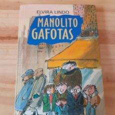 Libros de segunda mano: LIBRO, MANOLITO GAFOTAS, AÑO 95. Lote 203912850