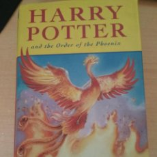Libros de segunda mano: HARRY POTTER AND THE ORDER OF THE PHOENIX - J. K. ROWLING -. Lote 204315558