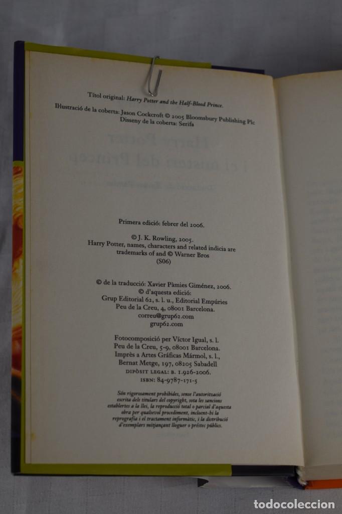 Libros de segunda mano: HARRY POTTER I EL MISTERI DEL PRINCEP - Foto 2 - 205118997