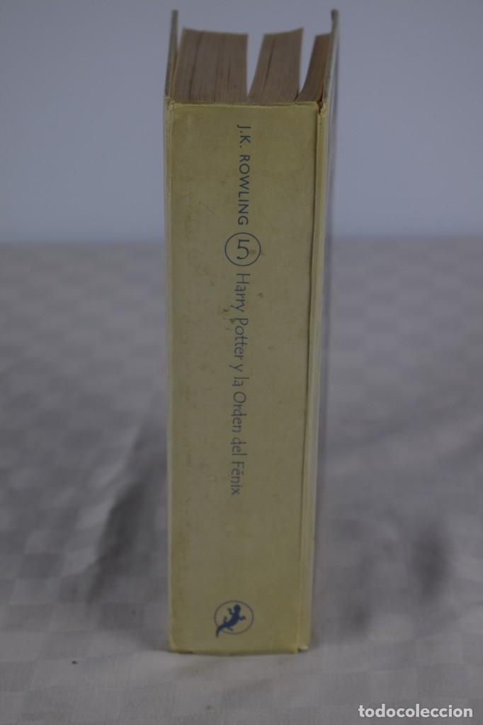 HARRY POTTER Y LA ORDEN DEL FENIX (Libros de Segunda Mano - Literatura Infantil y Juvenil - Novela)