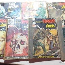Libros de segunda mano: LOTE NOVELA TERROR BELICA ESPACIO MILK BARBY CARRIGAN CORETTI CAUDETT GARLAND. Lote 205370075