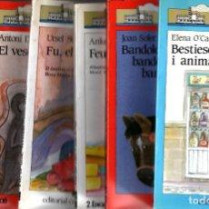 Libros de segunda mano: SEIS LIBROS VAIXELL - BARCO DE VAPOR. Lote 206206967