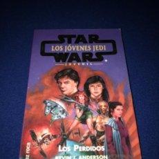 Libros de segunda mano: LOS PERDIDOS. STAR WARS. LOS JÓVENES JEDI (KEVIN J. ANDERSON Y REBECCA MOESTA) - MARTÍNEZ ROCA. Lote 206366318