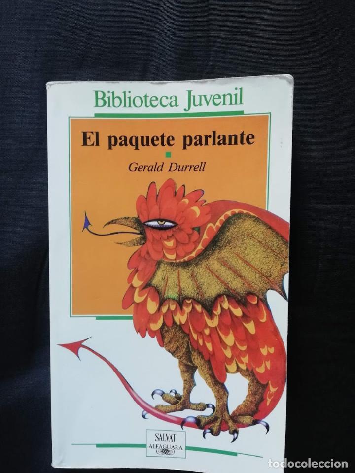 EL PAQUETE PARLANTE - GERALD DURRELL (Libros de Segunda Mano - Literatura Infantil y Juvenil - Novela)