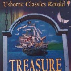 Libros de segunda mano: TREASURE ISLAND DE ROBERT LOUIS STEVENSEN USBORNE CLASSICS RETOLD. Lote 206777972