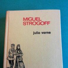 Libros de segunda mano: MIGUEL STROGOFF DE JULIO VERNE 1ª EDICIÒN HISTORIAS INFANTIL. Lote 206781675