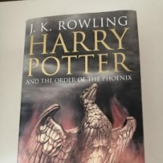 Libros de segunda mano: HARRY POTTER AND THE ORDER OF THE PHOENIX 2003 1ª EDICIÓN BLOOMSBURY LONDON. Lote 206923951