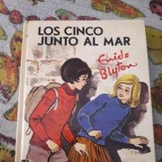 Libros de segunda mano: LOS CINCO JUNTO AL MAR. ENID BLYTON. EDICION JUVENTUD DE 1975.. Lote 206987372