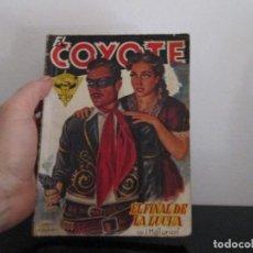 Libros de segunda mano: EL COYOTE NUMERO 14 EL FINAL DE LA LUCHA. Lote 207271947