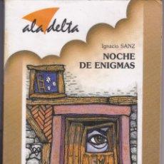Libros de segunda mano: NOCHES DE ENIGMAS DE IGNACIO SANZ. Lote 207927515