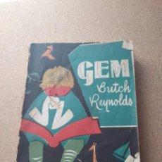 Libros de segunda mano: GEM. LA VIDA DE UN CABALLO SALVAJE. BUTCH REYNOLDS 1952. Lote 207964437