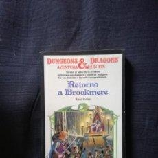 Libros de segunda mano: DUNGEONS & DRAGONS - RETORNO A BROOKMERE - AVENTURA SIN FIN - ROSE ESTES. Lote 208298913