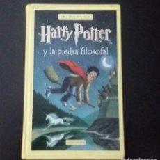 Libros de segunda mano: HARRY POTTER Y LA PIEDRA FILOSOFAL J.K. ROWLING DE EDIT. SALAMANDRA. 2001 30 A. EDICIÖN. Lote 209037291