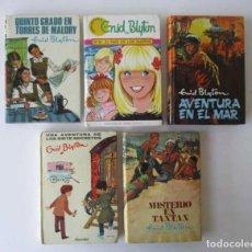 Libros de segunda mano: CINCO NOVELAS DE ENID BLYTON. Lote 209181601