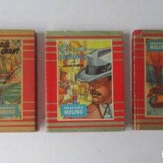 Libros de segunda mano: TRES NOVELAS DE JULIO VERNE - COLECCION MOLINO. Lote 209182195