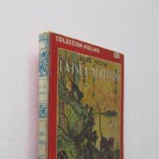 Libros de segunda mano: LA ISLA MISTERIOSA JULIO VERNE - COLECCION MOLINO. Lote 209213607