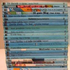 Libros de segunda mano: BARCO DE VAPOR. A PARTIR DE 7 AÑOS. LOTE DE 31 LIBROS. VER TÍTULOS EN FOTOGRAFIAS. Lote 191052726
