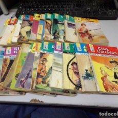 Libros de segunda mano: LOTE DE 22 NOVELAS DEL OESTE. Lote 209953640