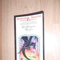 Libros de segunda mano: DUNGEONS & DRAGON AVENTURA SIN FIN Nº 7 EL DRAGON NEGRO - ROSE ESTES - TIMUN MAS. Lote 210036777