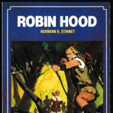 Libros de segunda mano: ROBIN HOOD - NORMAN R STINNET - BRUGUERA HISTORIAS COLOR 1983. Lote 210593611
